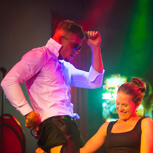stripper silvester optreden